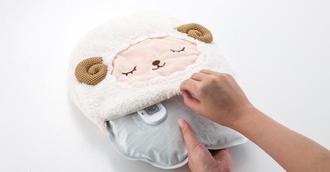 次世代型湯たんぽで朝まで暖かく眠る